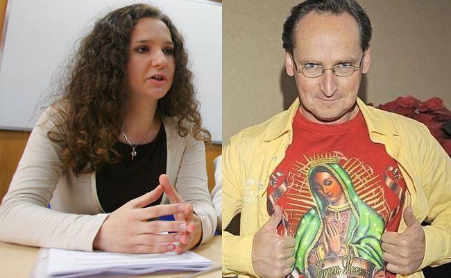 Joanna Najfeld na Konferencji Młodzieży Wszechpolskiej/Wojciech Cejrowski