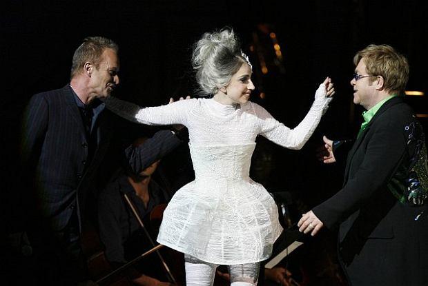 Elton John, Lady Gaga i Sting