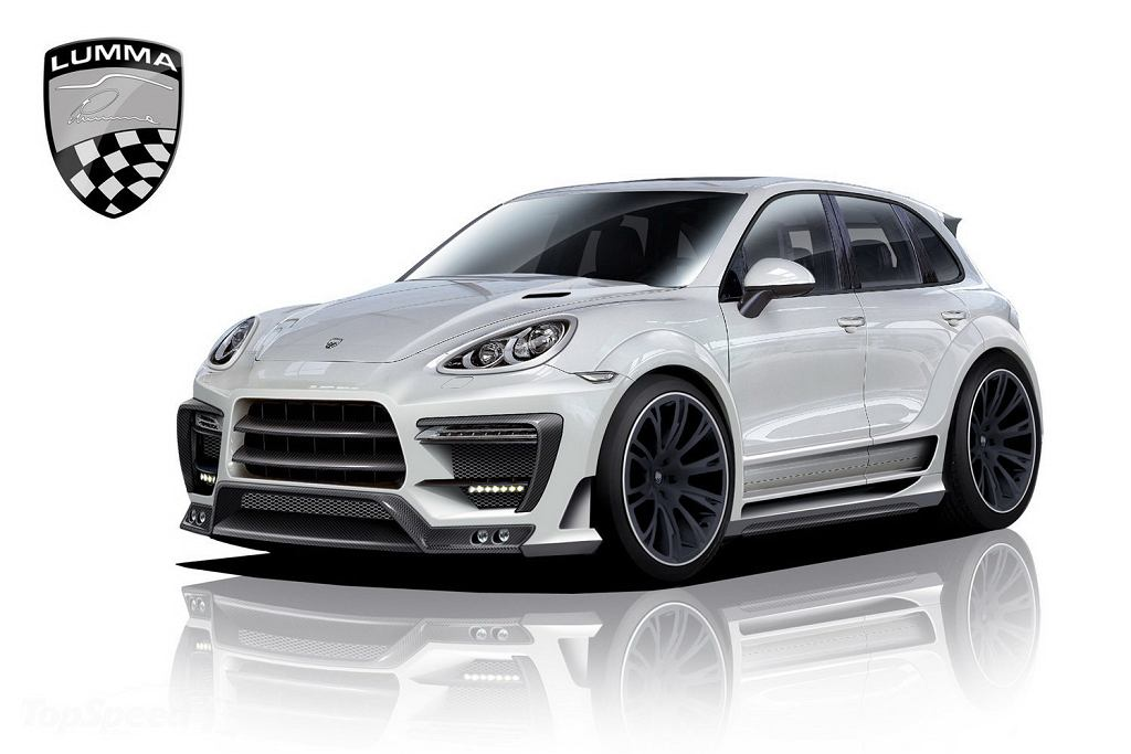 Porsche Cayenne od Lumma Design