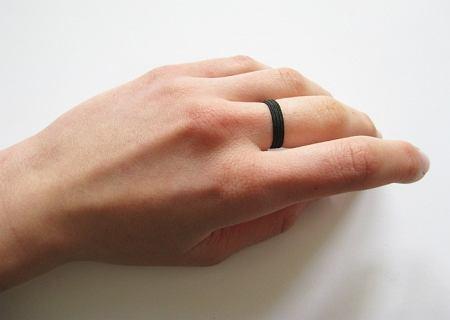 DIY - kwiecisty pierścionek