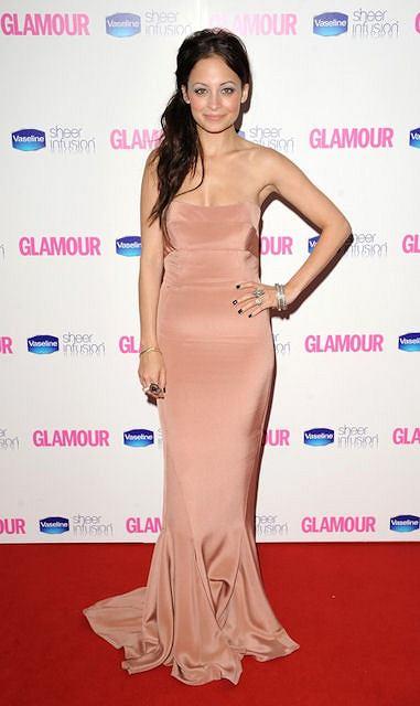 Nicole Richie podczas wyborów Kobiety Glamour 2010 w Londynie.