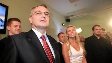 Waldemar Pawlak przed ogłoszeniem sondażowych wyników wyborów