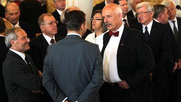 Uroczystość na Zamku Królewskim w Warszawie
