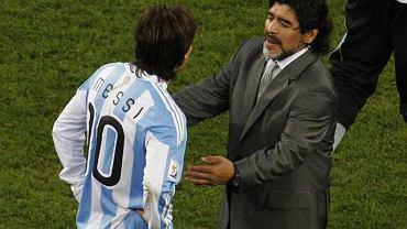 Messi i Maradona