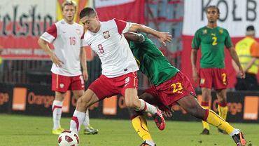 Polska - Kamerun. Robert Lewandowski