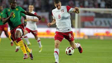 Polska - Kamerun 0:3. Robert Lewandowski