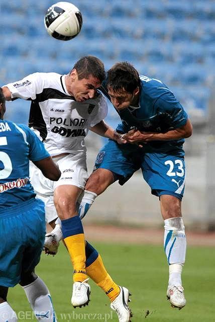 Lech - Arka 0:0. Marcin Kikut