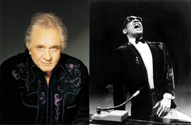 Johnny Cash, Ray Charles, mat. promocyjne