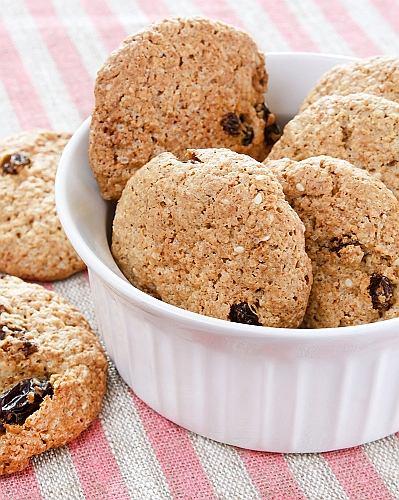 Ciasteczka owsiane - potężna dawka węglowodanów