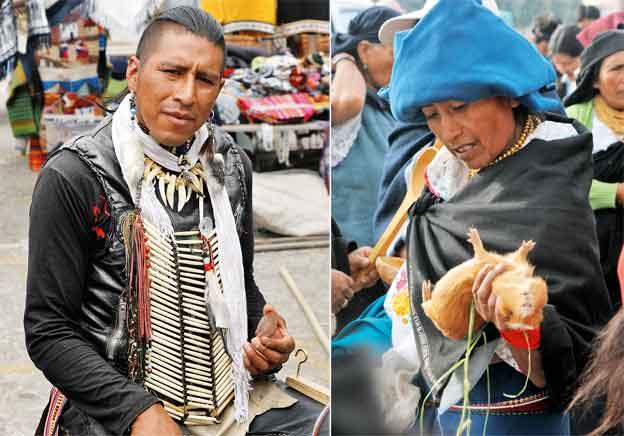 Targi w Ekwadorze