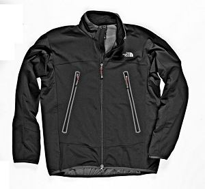 softshell: The North Face, model Cipher, windstopper, 579 zł