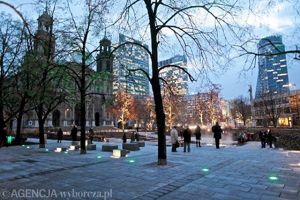 Plac Grzybowski po remoncie / Fot. Robert Kowalewski / Agencja Gazeta
