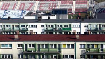 Najbliższa okolica stadionu Widzewa