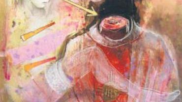 Jedna z kontrowersyjnych prac malarza.