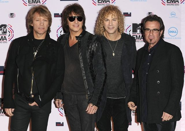 Bon Jovi na MTV Europe Awards 2010.