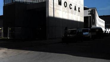 Kraków. Budynek Muzeum Sztuki Nowoczesnej ''MOCAK'' na Zabłociu