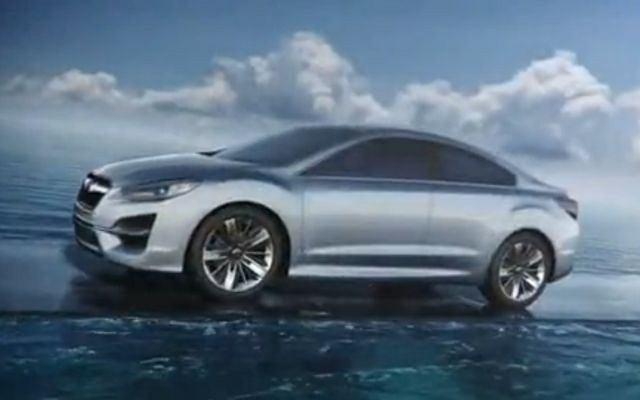 Subaru Impreza Concept - WIDEO