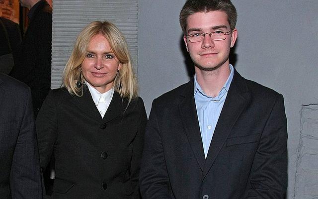 Monika Olejnik z synem