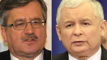 Bronisławowi Komorowskiemu ufamy najbardziej - najmniej Jarosławowi Kaczyńskiemu