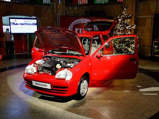Fiat 600 w Muzeum Techniki