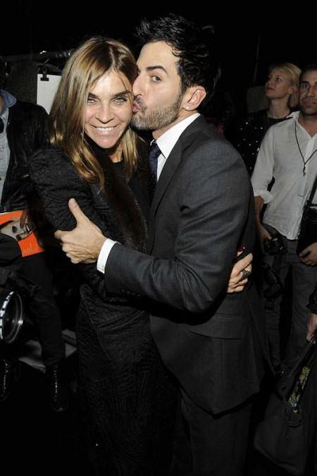 Carine Roitfeld i Marc Jacobs