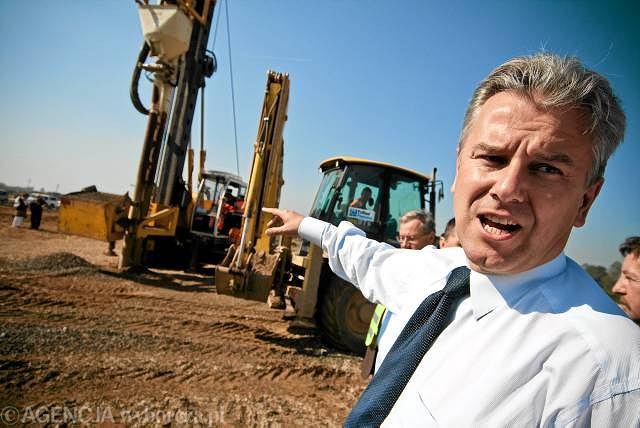 Minister infrastruktury Cezary Grabarczyk