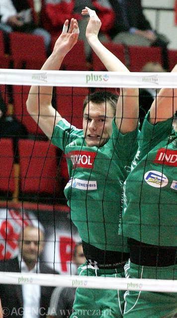 Wojciech Włodarczyk w barwach Indykpolu AZS Olsztyn