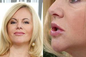 Miesiąc temu Joanna Kurowska skończyła 46 lat. Mimo upływu czasu na jej twarzy widać jedynie pojedyncze zmarszczki.