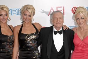 Hugh Hefner Crystal Harris i Shannon Twins