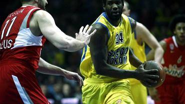 30.03.2010 Gdynia Euroliga. Mecz koszykowki : Asseco Prokom Gdynia - Olympiacos Piraeus .Wynik 81:78