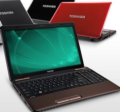 Na zdjęciu Toshiba seria L