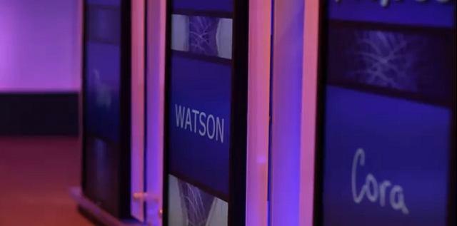 Watson podczas występu w teleturnieju Jeopardy!
