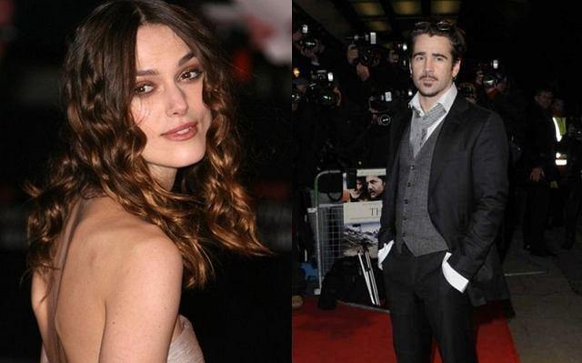 Colin Farrell romansuje z Keirą Knightley