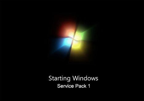Na zdjęciu Windows 7 SP1