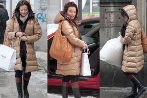 Anna Mucha chcąc odreagować intensywną pracę na planie serialu Prosto w serce wybrała się na zakupy.