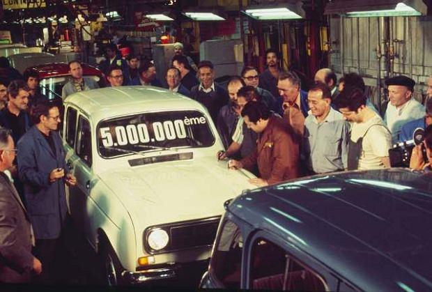 W 1977 roku wyprodukowano 5-milionowy egzemplarz R4