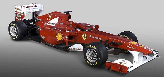 Nowy bolid Ferrari - F150