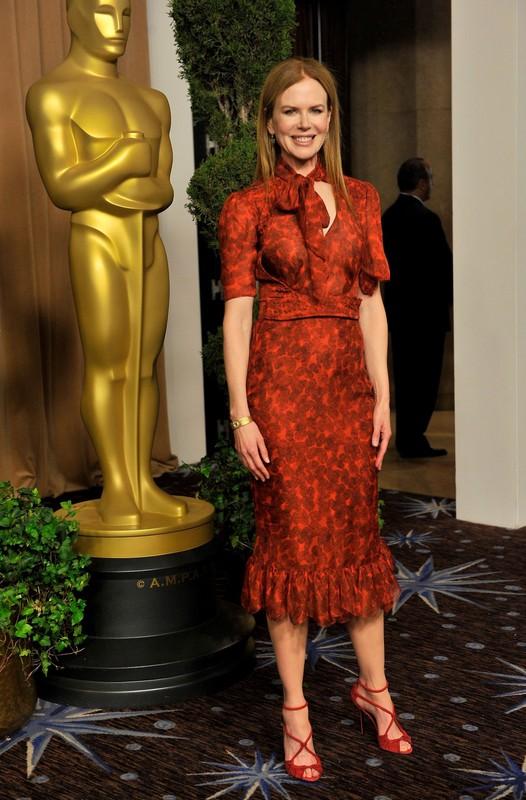 Gwiazdy na imprezie dla nominowanych do Oscara 2011
