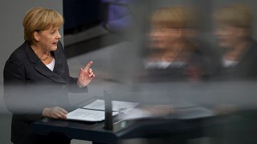 Angela Merkel w Bundestagu