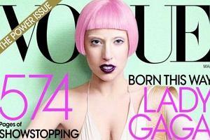 Duża część najnowszego amerykańskiego Vogue'a została poświęcona Lady Gadze. Sesja zdjęciowa z gwiazdą autorstwa Mario Testino wypadła nadzwyczaj zwyczajnie. Żadnego mięsa we włosach i innych obscenicznych wariacji.