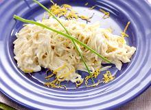 Makaron tagliolini w sosie cytrynowym - ugotuj