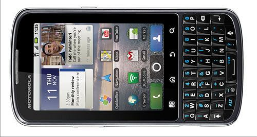 Motorola Pro - smartfon dla świata biznesu