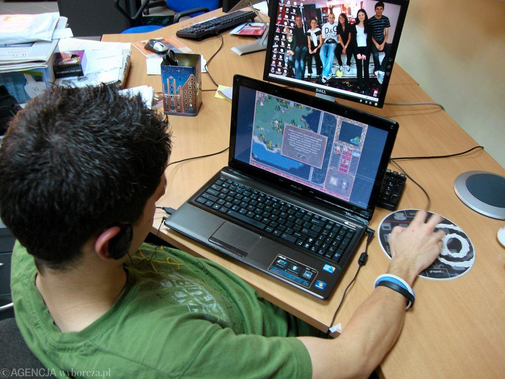 Płock, internet w szkole