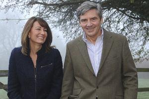 Michael i Carole Middleton.