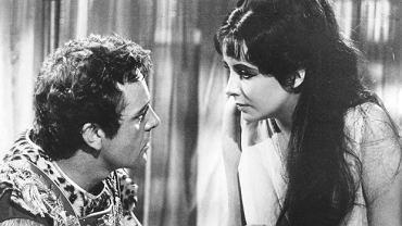 """Kleopatra"" - Elisabeth Taylor i Richard Burton"