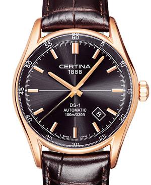zegarki, Certina, DS1 Automatic Rose Gold