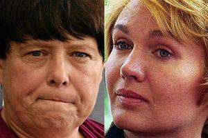 Ilona Łepkowska i Agnieszka Pilaszewska
