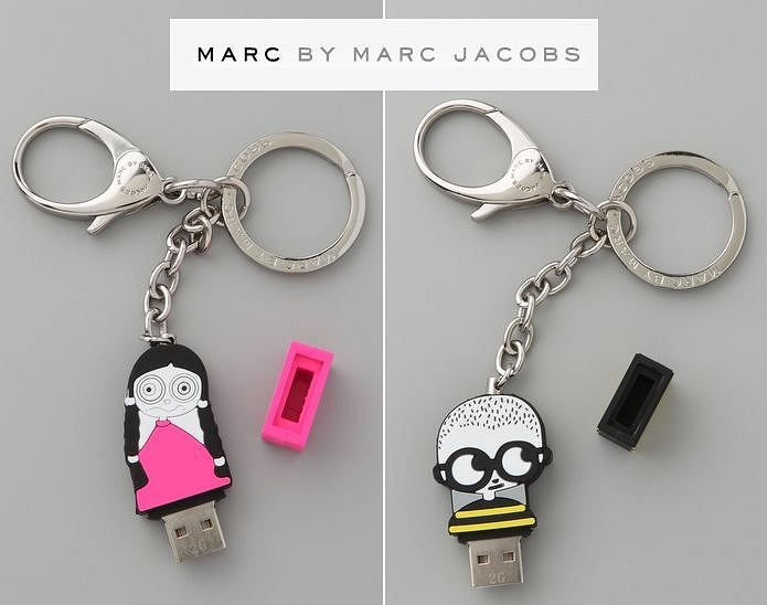 Brelok z USB Marc by Marc Jacobs