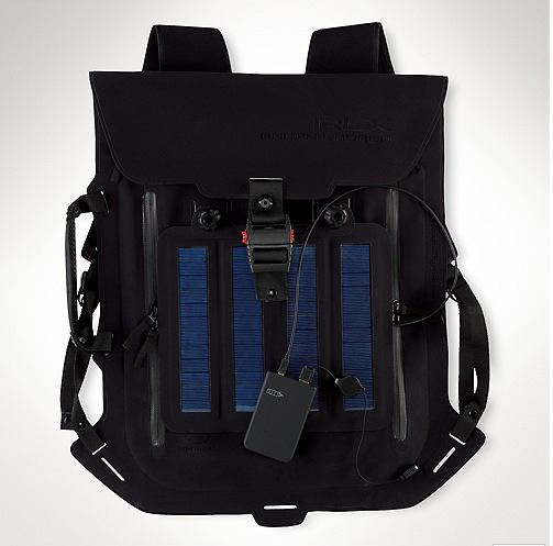 Plecak Ralph Lauren z baterią słoneczną