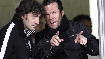 Lothar Matthaus i Jose Bakero
